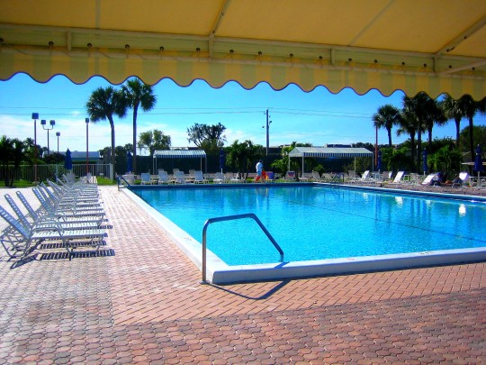 Main Pool at Central Clubhouse - Next to Tennis Courts and Jacuzzi
